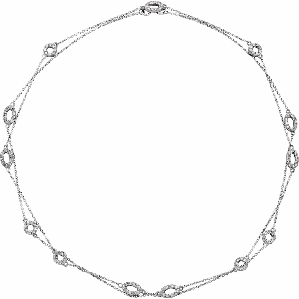 Necklace Sterling silver 36